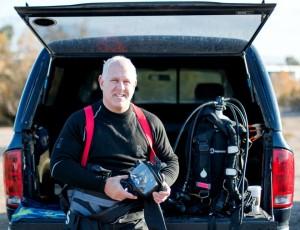 Joel Silverstein, explorer, author, dive technologist.