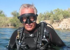 Captain John Fuller .. skipper of the R/V Explorer